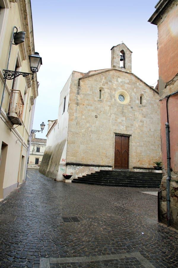 Di Santa Chiara Oristano Sardinia Italy de Chiesa fotografia de stock royalty free