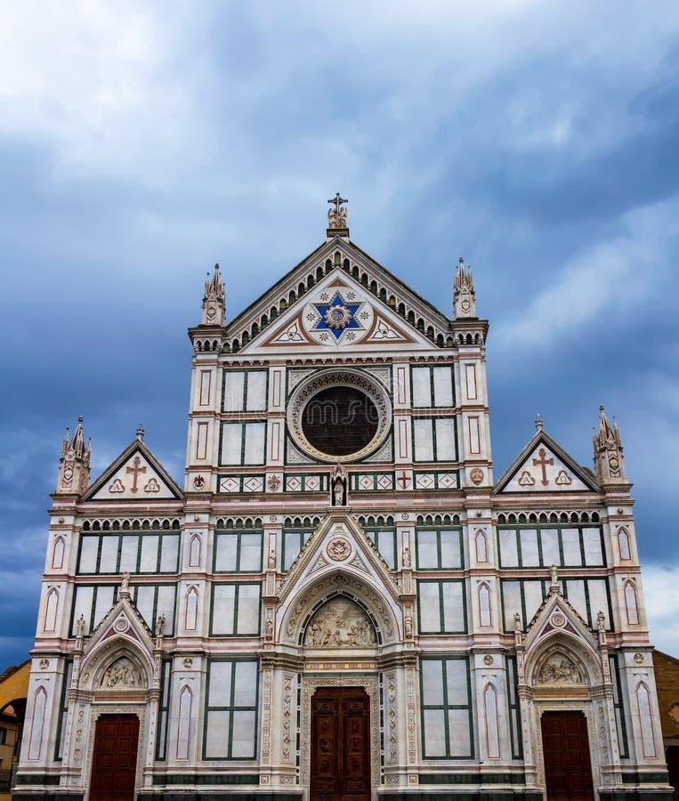 Di Santa Croce базилики (базилика святого креста) - famou стоковые изображения rf