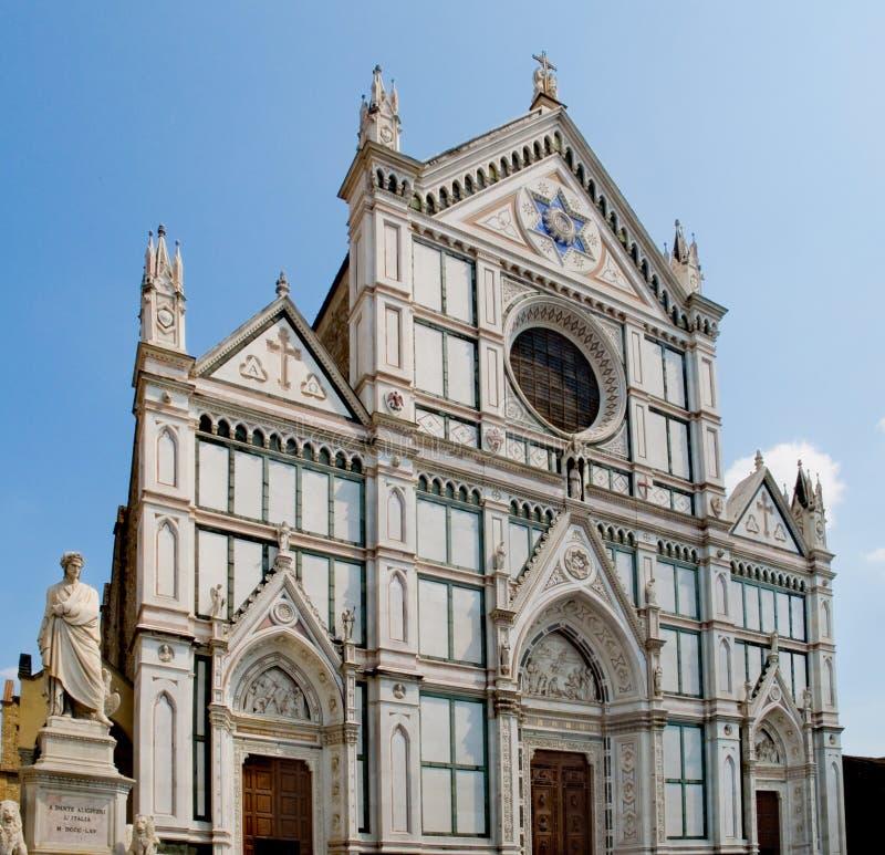 Di Santa Croce базилики. Флоренс, Италия стоковые фото