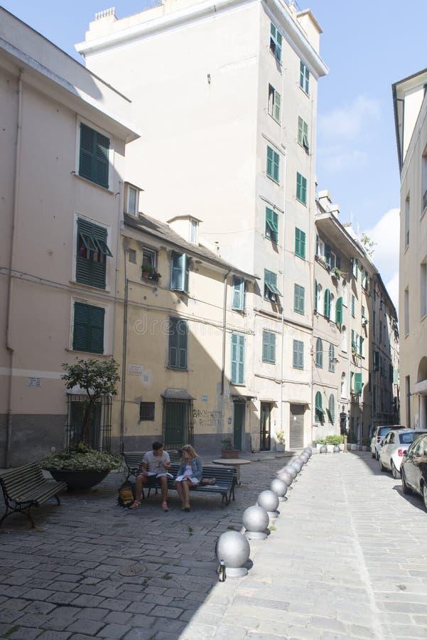 Download Di Santa Croce, Génova De La Plaza Imagen de archivo editorial - Imagen de vacío, living: 44855439