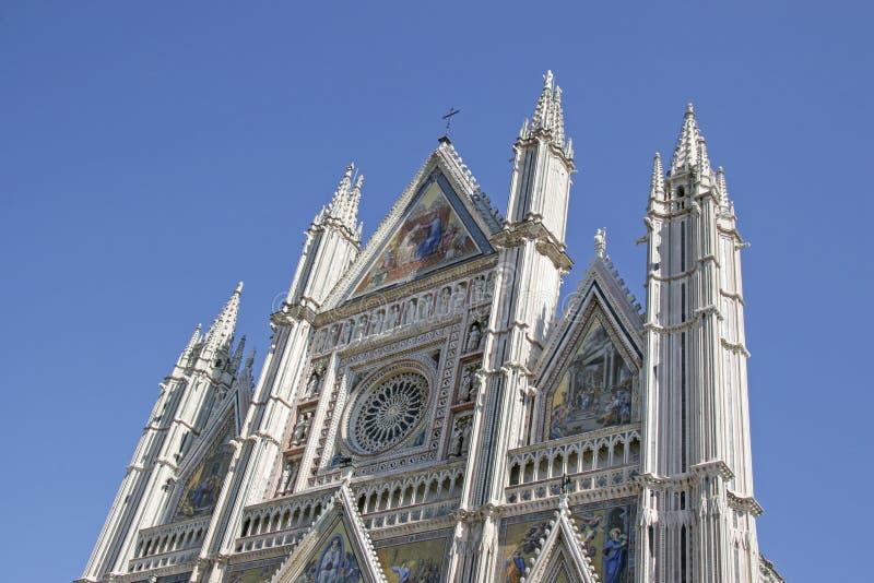 Di Santa Maria Assunta de Cattedrale en Orvieto imagen de archivo libre de regalías