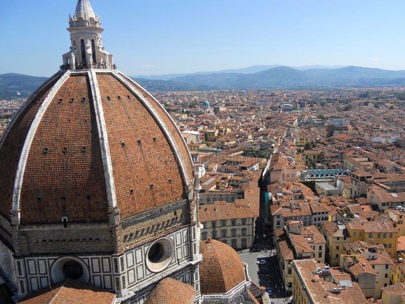 Di Santa Maria del Fiore, Florencia de Florence Cathedral /Catterdrale imagenes de archivo
