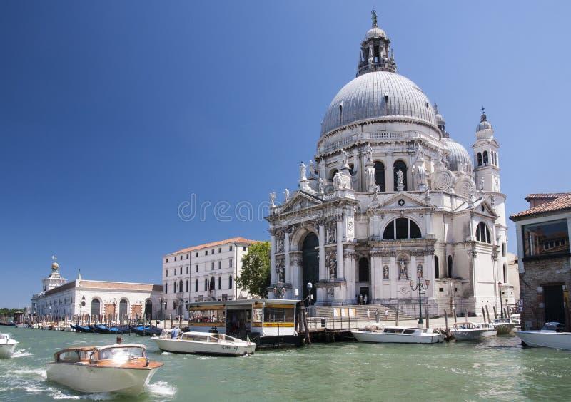 Di Santa Maria della Salute, Venise de basilique photos stock