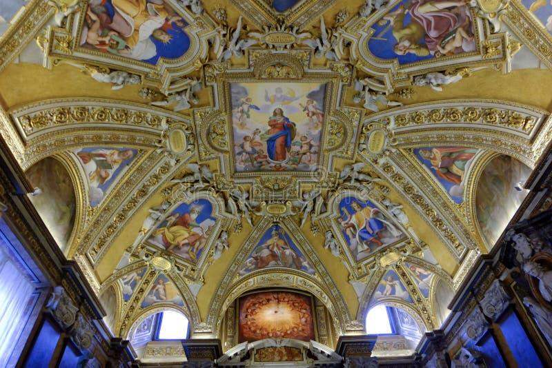 Di Santa Maria Maggiore базилики в Рим стоковые изображения rf