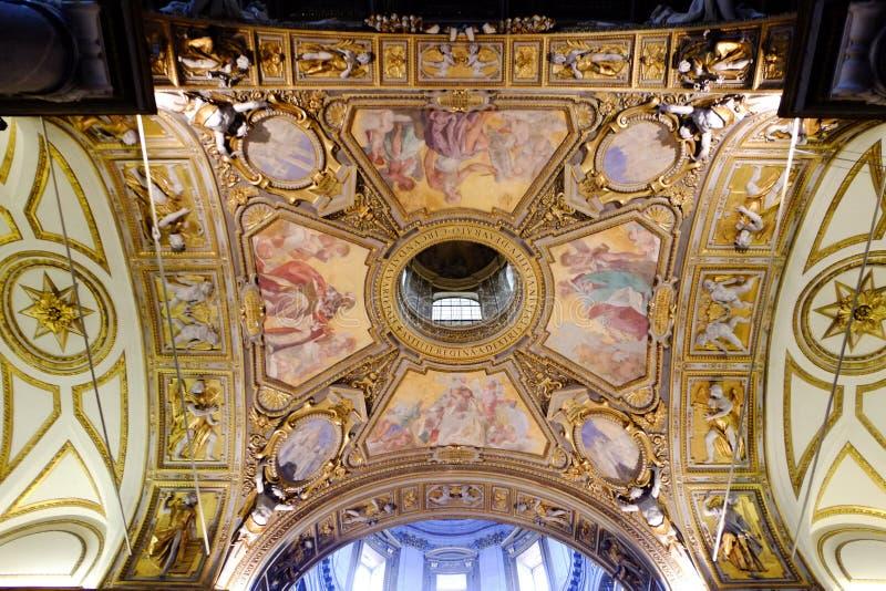 Di Santa Maria Maggiore базилики в Рим стоковые фотографии rf