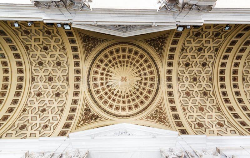Di Santa Maria Maggiore da basílica fotografia de stock royalty free