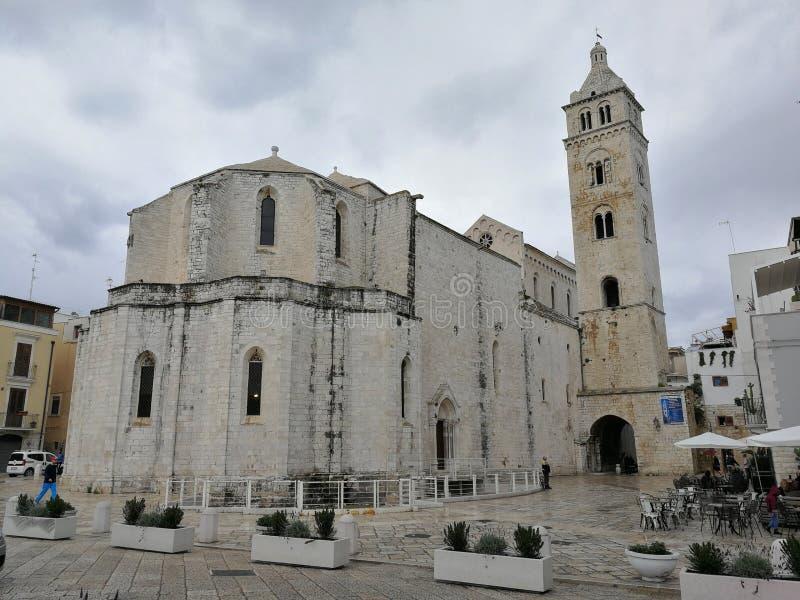 Di Santa Maria Maggiore de Barletta - de Cattedrale fotografia de stock
