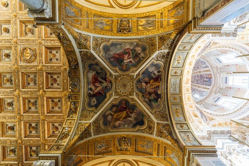 Di Santa Maria Maggiore de basilique photo stock