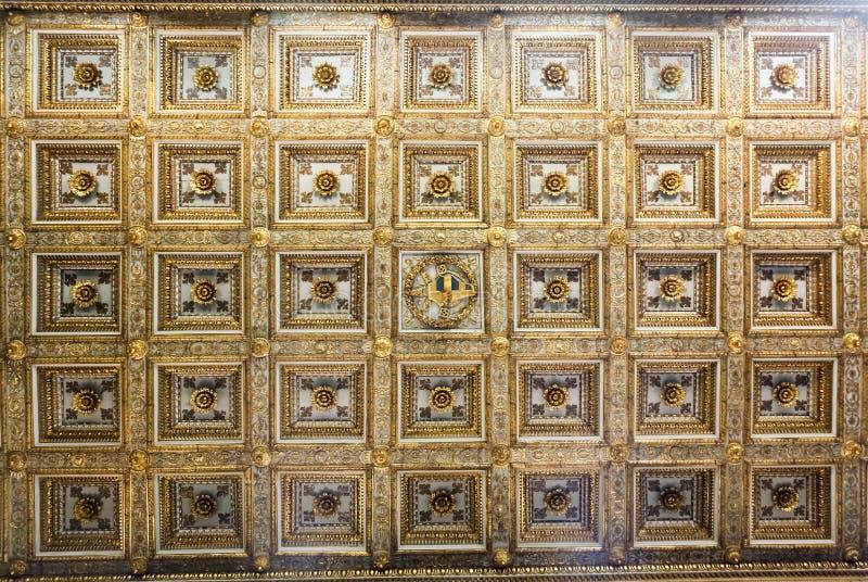 Di Santa Maria Maggiore de basilique image stock
