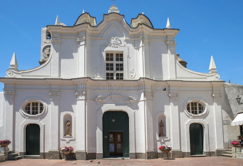 Di Santa Sofia Santa Sofia Church de Chiesa dans Anacapri, Capri, Italie photo libre de droits