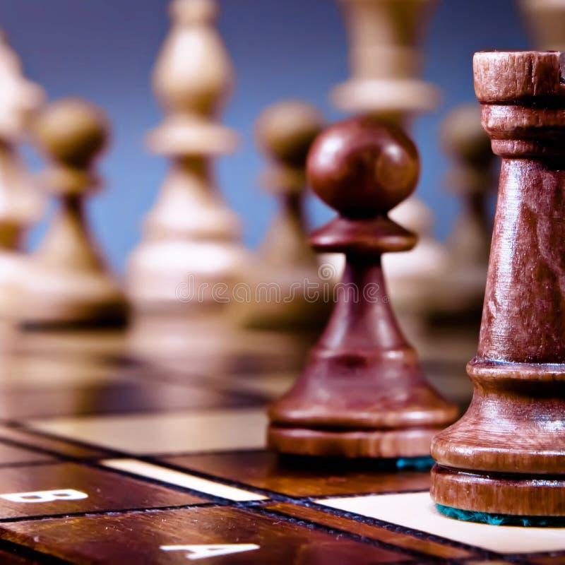 Di scacchi vita ancora fotografia stock libera da diritti