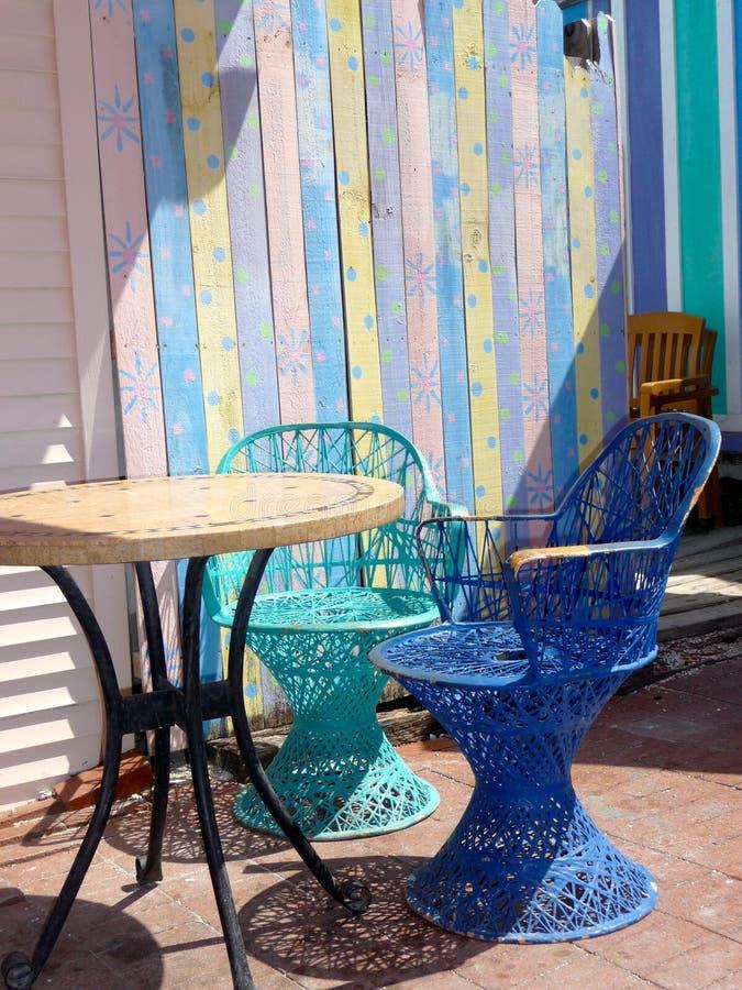 di sedile colorato di pastello fotografia stock