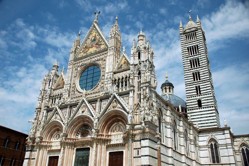 Di siena van Duomo stock fotografie