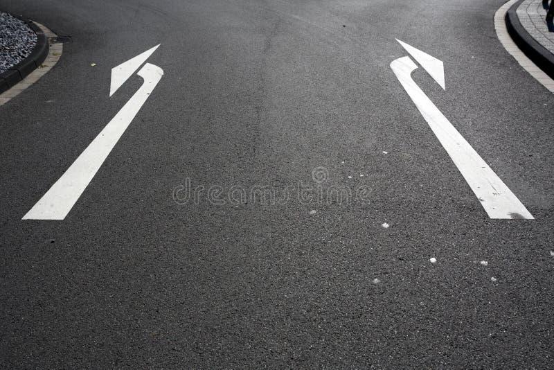 Di sinistra o di destra immagine stock libera da diritti