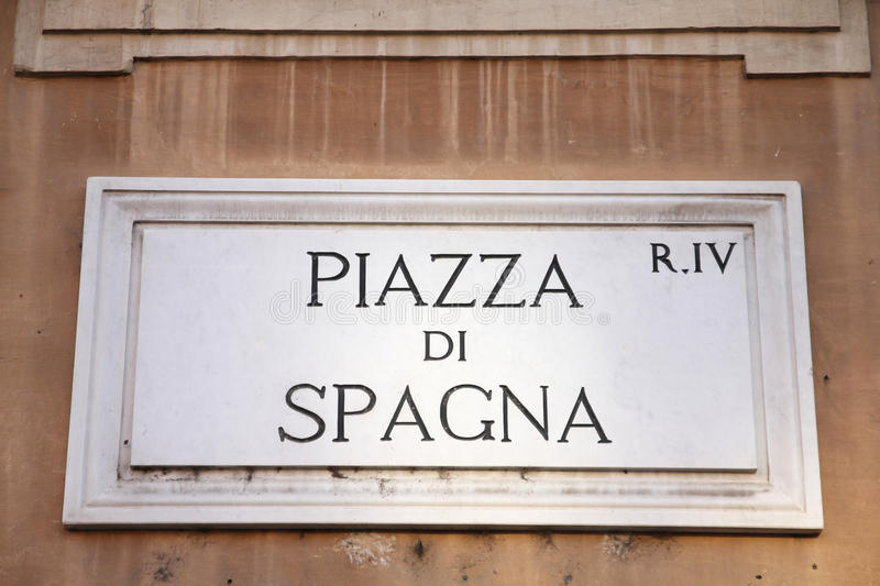 di spagna Piazza obrazy royalty free