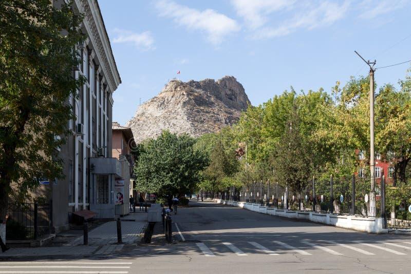 Di Sulayman montagna in Oš, Kirghizistan ugualmente fotografia stock libera da diritti