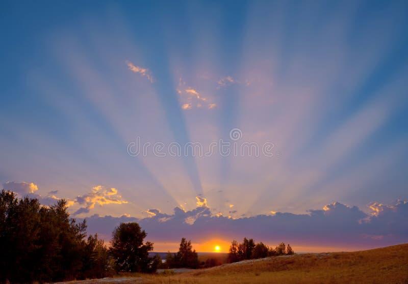 Di The Sun aumenti inoltre. fotografia stock libera da diritti