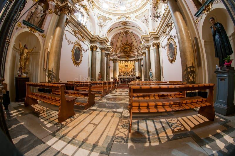Di Teramo Cattedrale стоковое изображение