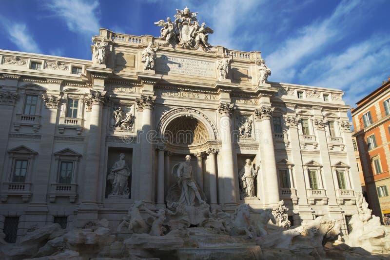 di trevi Fontanna Italy Rome Włochy fotografia stock