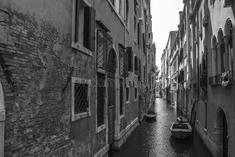 Di Venezia del stretto de Canale fotografía de archivo