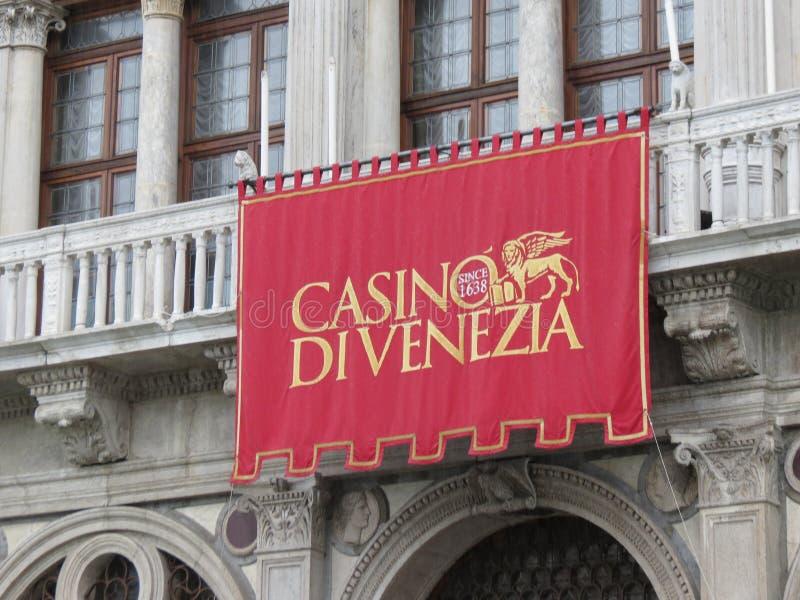 Di Venezia do casino em Veneza fotos de stock