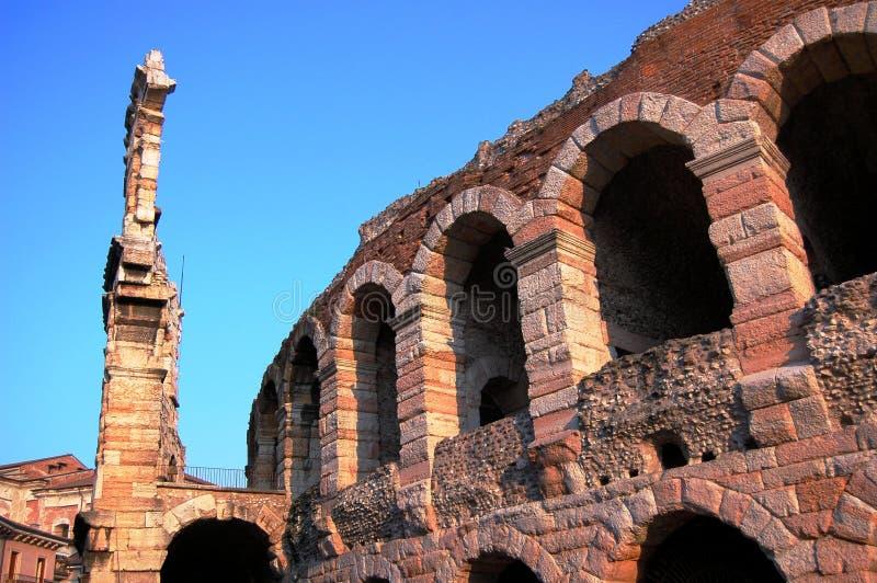 Di Verona da arena fotos de stock royalty free