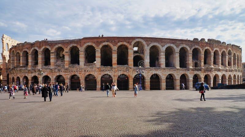 Di Verona de la arena foto de archivo libre de regalías