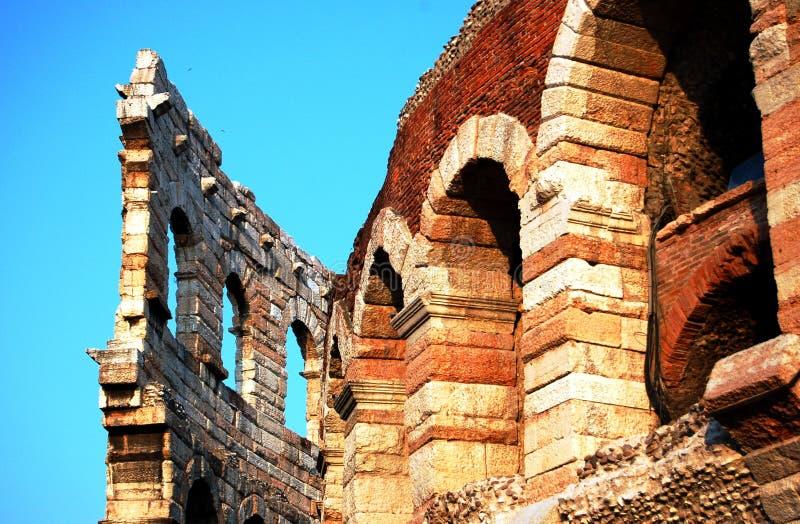 Di Verona de la arena fotografía de archivo