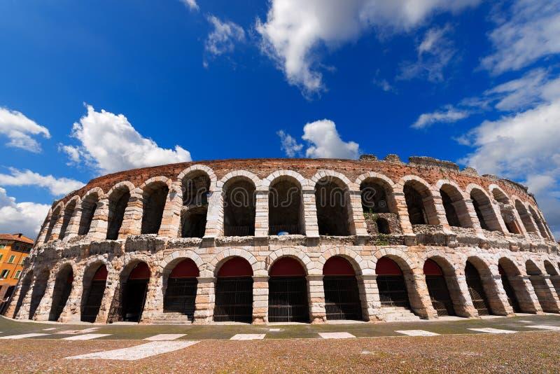 Di Verona - Vêneto Itália da arena imagem de stock
