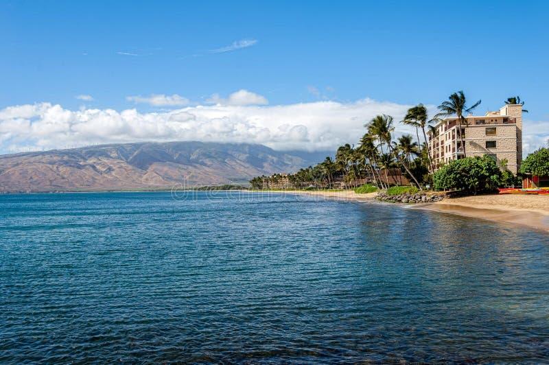 Dia bonito Maui foto de stock
