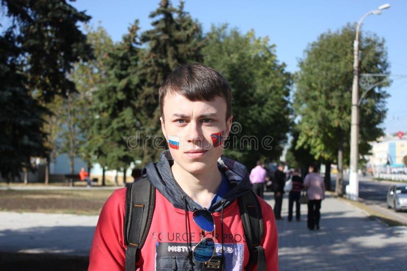 Dia da cidade em Luhansk imagem de stock