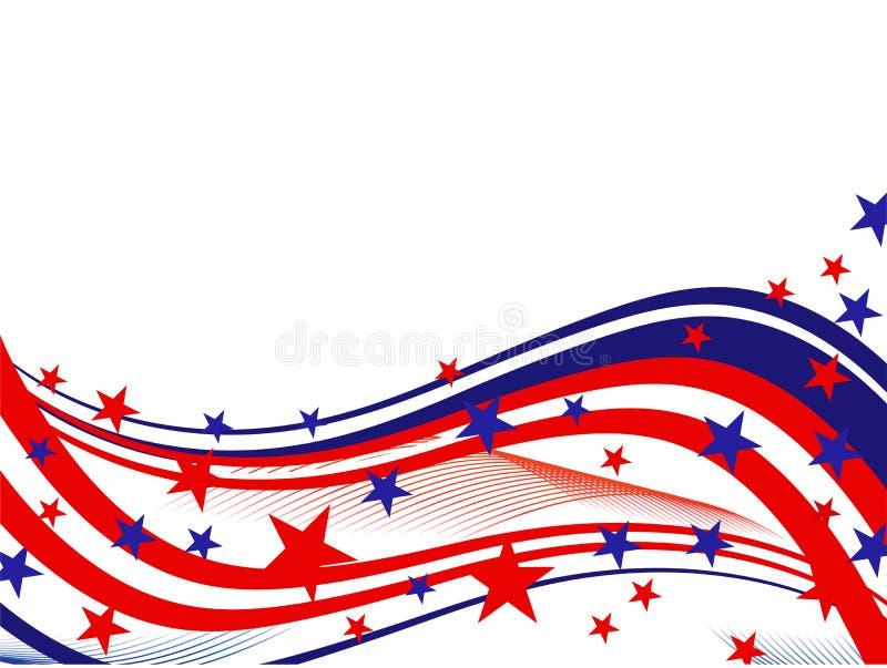 Dia da Independência de ô julho ilustração stock