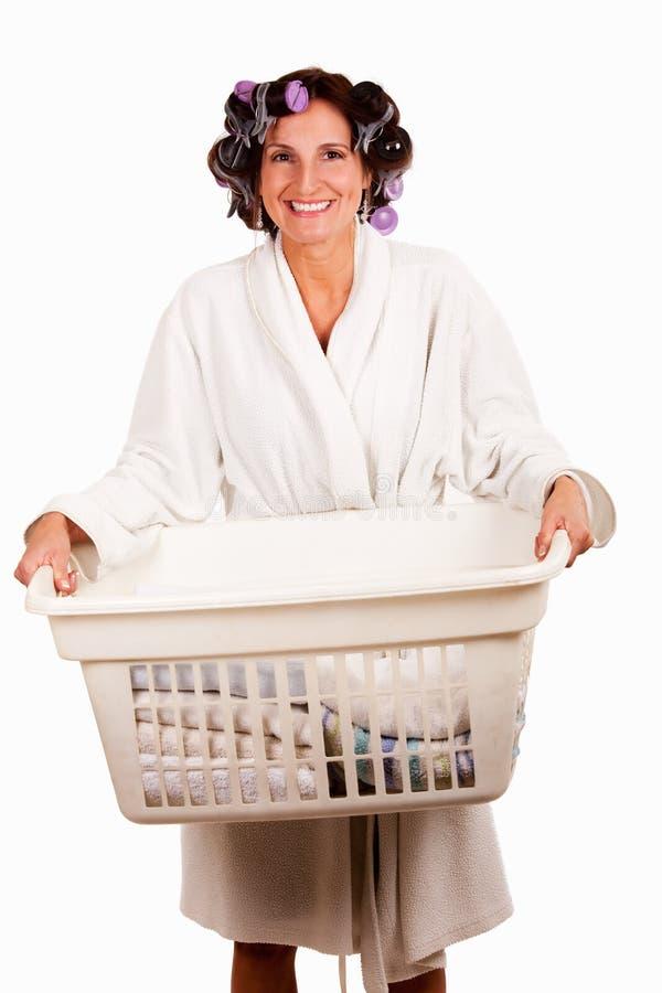 Dia da lavanderia imagem de stock royalty free
