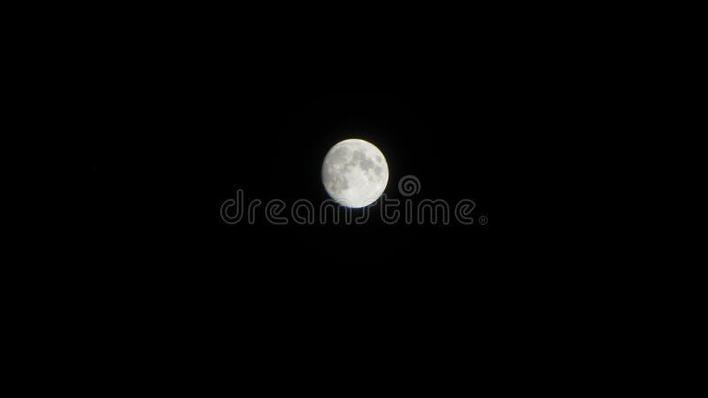 Dia da Lua cheia no poson imagens de stock royalty free