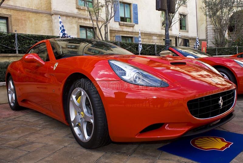 Dia da mostra de Ferrari - Ferrari Califórnia - F149 foto de stock royalty free