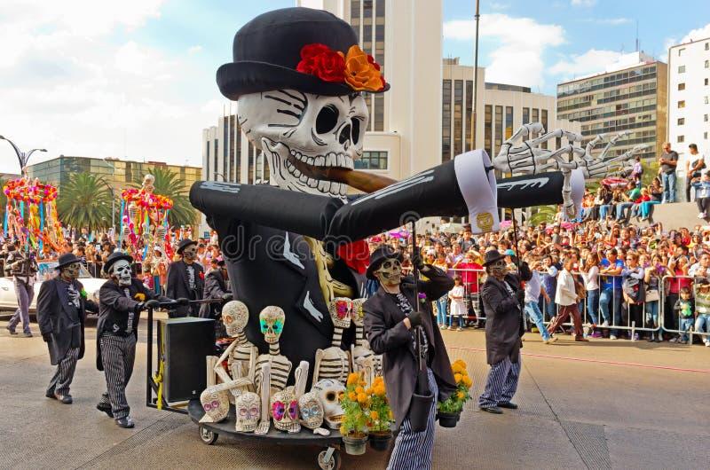 Dia da parada inoperante em Cidade do México fotos de stock