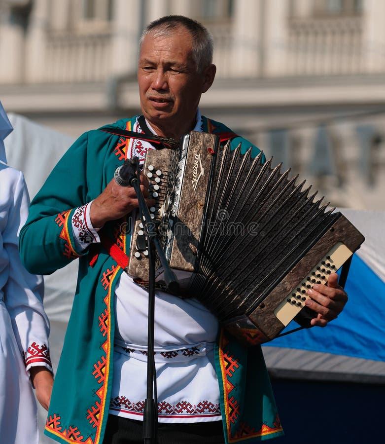Dia da república de Tataria fotos de stock