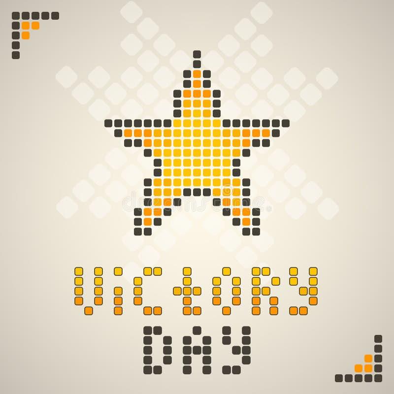 Dia da vitória foto de stock