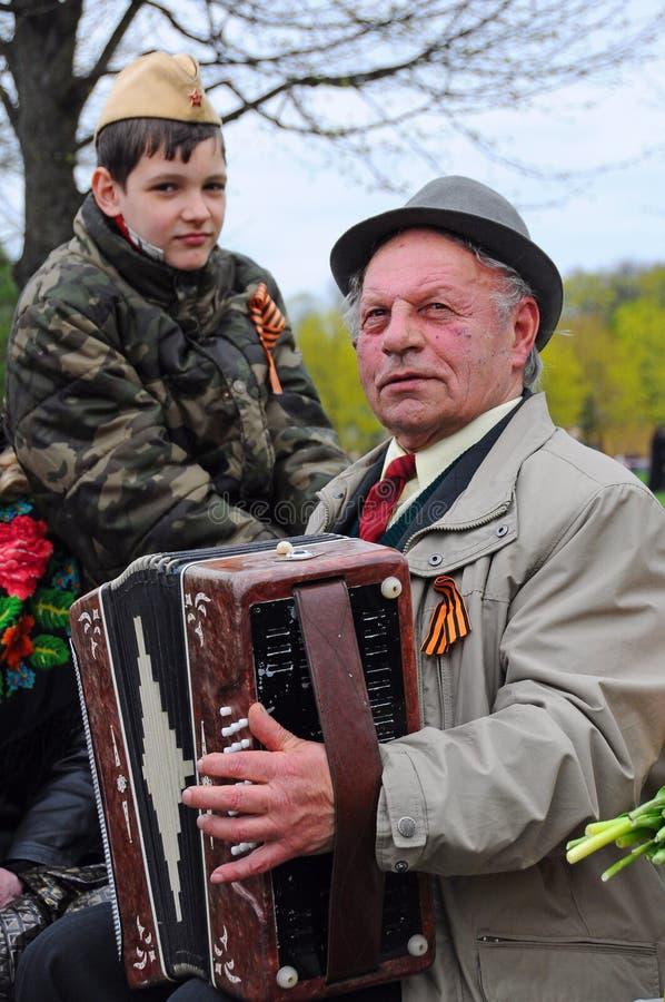 Dia da vitória, Letónia imagem de stock royalty free
