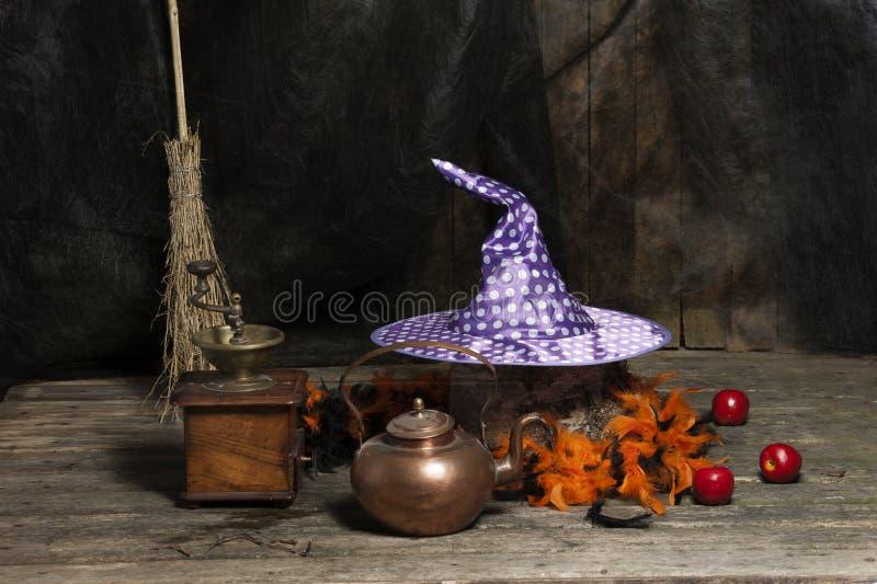 Dia das Bruxas ainda vivo imagens de stock
