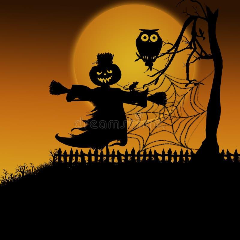 Dia das Bruxas assustador 5 ilustração stock