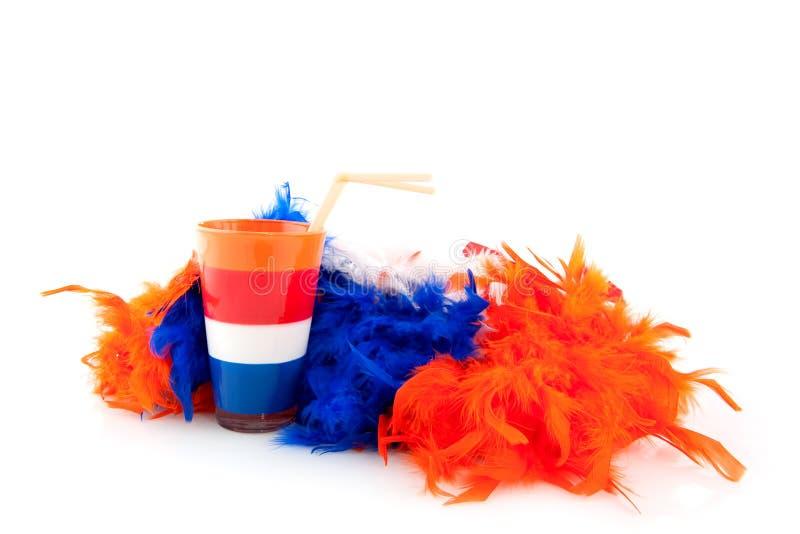 Dia das rainhas em Holland fotografia de stock