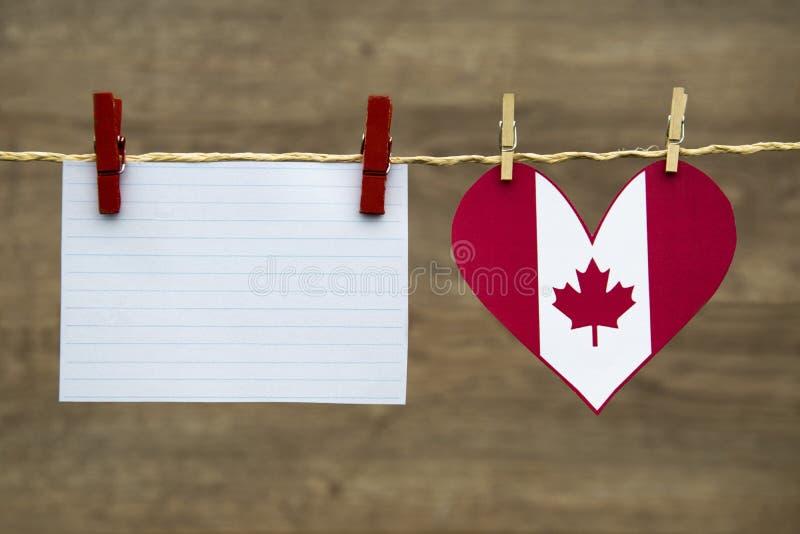 Dia de Canadá, Dia da Independência, mensagem do dia de victoria imagens de stock royalty free