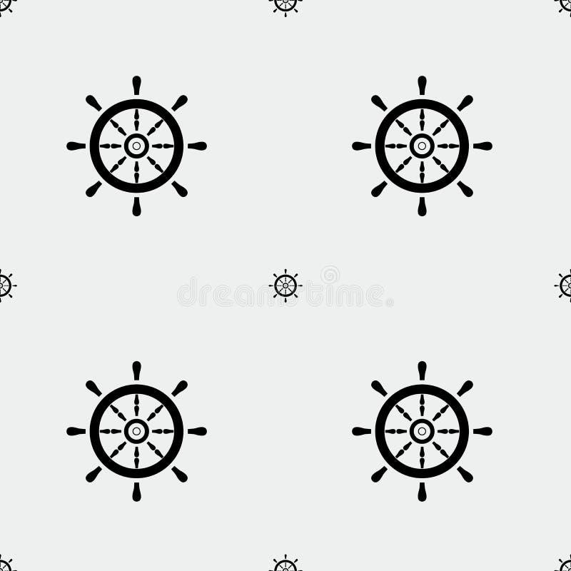 Dia de Colombo ou teste padrão do fuzileiro naval ilustração do vetor