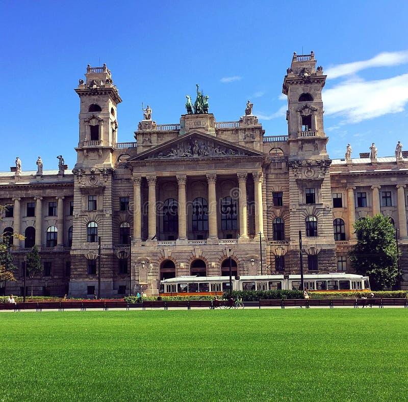 Dia de Colourfull em Budapest foto de stock royalty free