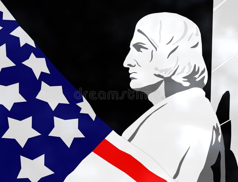 Dia de Columbo - ilustração 3D ilustração royalty free