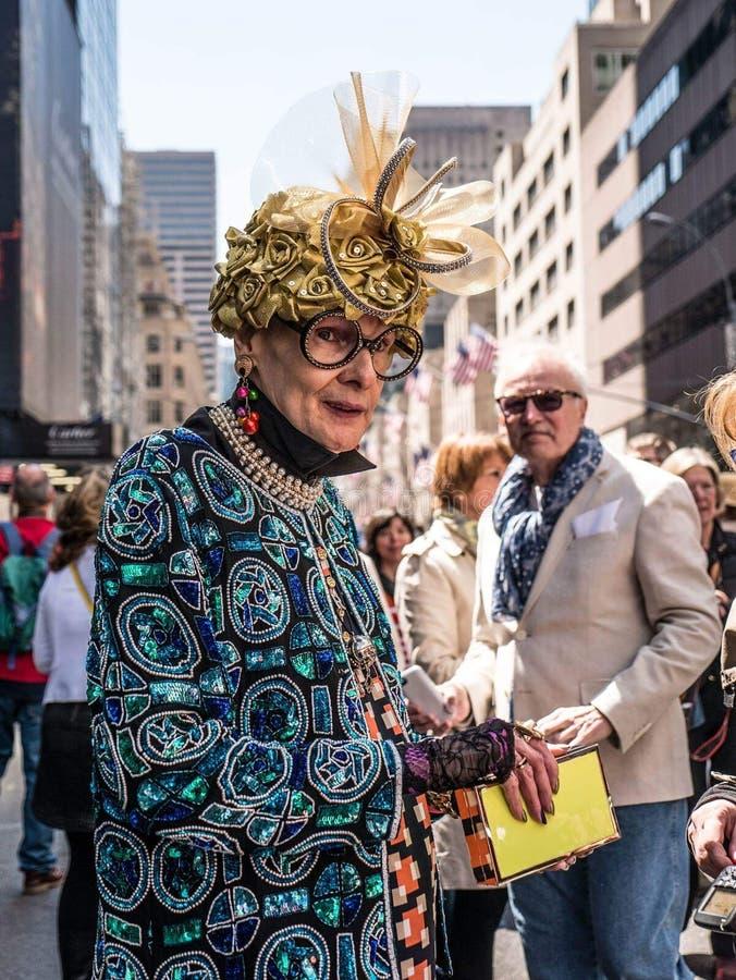 dia de easter em New York imagem de stock royalty free