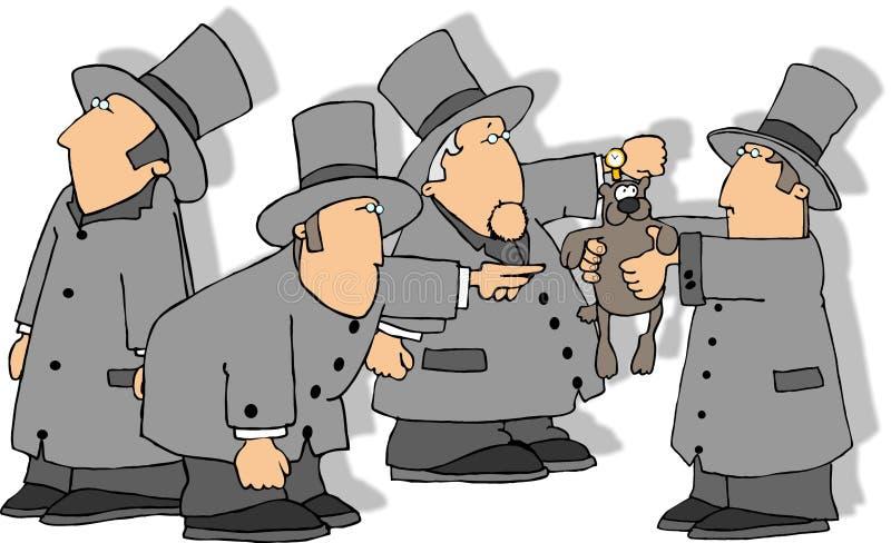 Download Dia de Groundhog ilustração stock. Ilustração de homem, semana - 52103