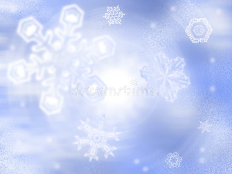 Dia de inverno ilustração stock