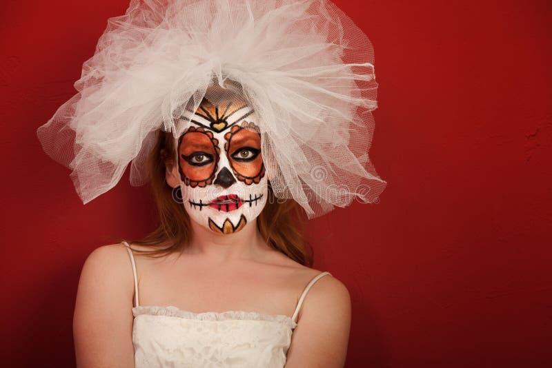 Dia de la Muertos Bride image stock